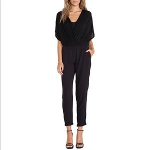 Ella Moss Black cotton jumpsuit
